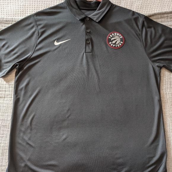Nike Toronto Raptors dri-fit polo shirt